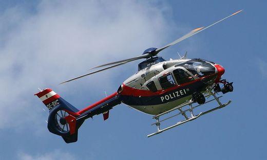 Rettender Einsatz des Polizeihubschraubers FLIR