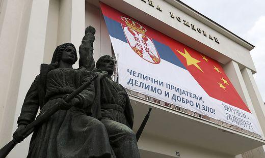 Belgrad feiert in der Corona-Krise die Freundschaft mit China