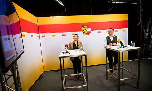 GR-Wahl Gemeinderatswahlen 2021 HermagorClaudia Lux Siegfried Ronacher (SPÖ)  Leopold Astner (ÖVP) Karl Tillian (Liste Tillian) Christina Ball (FPÖ)