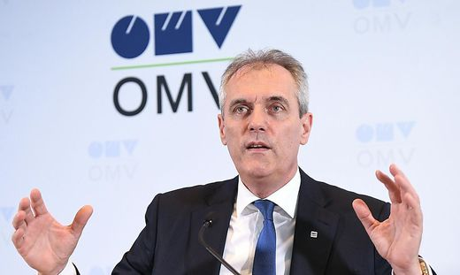 OMV-Vorstandschef Rainer Seele