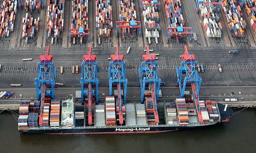 Die deutsche Wirtschaft lebt vor allem vom Export