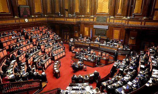 ITALY PARLIAMENT EU COUNCIL