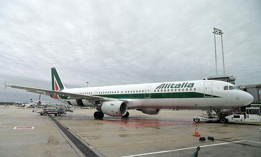 Flieger der Alitalia bleiben Montag am Boden