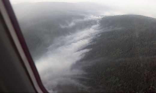 136 Waldbrände auf einer Gesamtfläche von 43.000 Hektar.