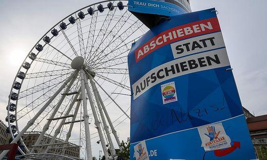 AfD-Wahlkampf in Sachsen