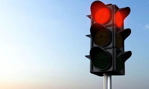 """Eine rote Ampel gab es für die FPÖ-Kampagne """"Heimvorteil"""""""
