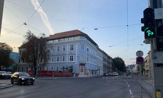 Das Ex-Hotel wird zur blauen Parteizentrale