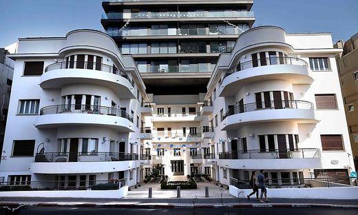 In Tel Aviv allgegenwärtig: die Bauhaus-Häuser