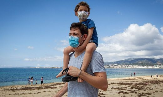 SPAIN-HEALTH-VIRUS-PANDEMIC-CHILDREN