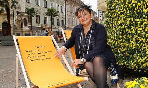Cornelia Hübner von der Interessengemeinschaft Fußgängerzone fürchtet, dass alteingesessene Kaufleute verdrängt werden.