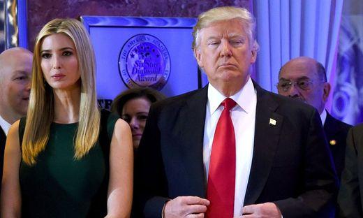 Ivanka Trump mit Papa Donald
