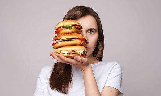 Burger, Fast-Food-Diät