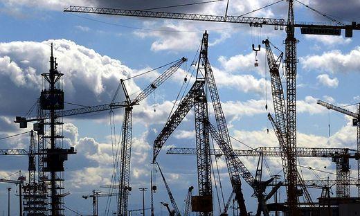 Der Bauboom ist ein Beitrag zum Aufschwung der Wirtschaft