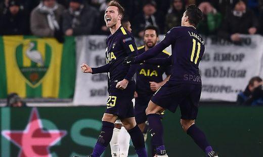 Nach 0:2 jubelte am Ende Tottenham über ein Unentschieden