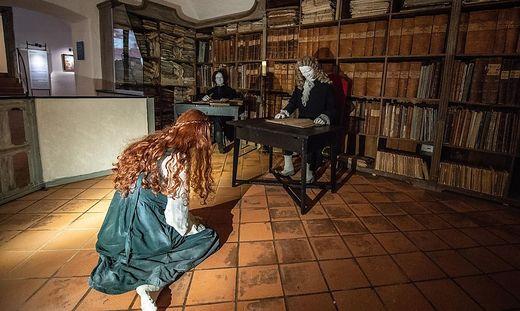 Auf der Riegersburg gibt es bereits ein Hexenmuseum
