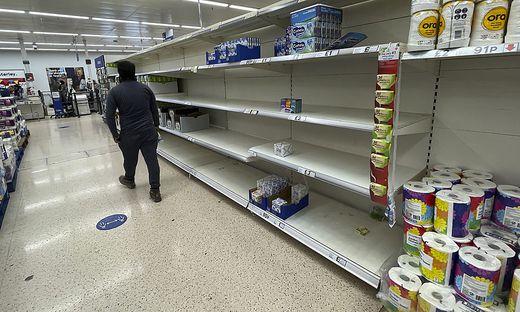 Mit neuen Maßnahmen will die britische Regierung die Lieferprobleme beenden