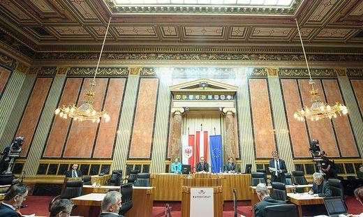 Die Sitzungen im Bundesrat nimmt die Öffentlichkeit kaum wahr - künftig könnte die SPÖ auch medial Kapital aus ihrem Vetorecht schlagen