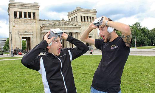 Paul Stanzenberger und Philipp Kanceljak von teamazing