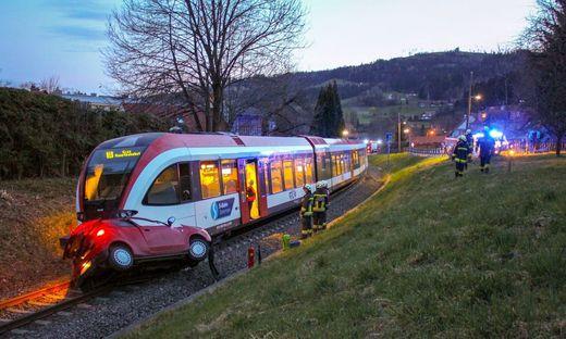 Zugunfall in Deutschlandsberg