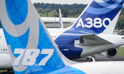 Airbus mit dem A380 gegen Boeings 787