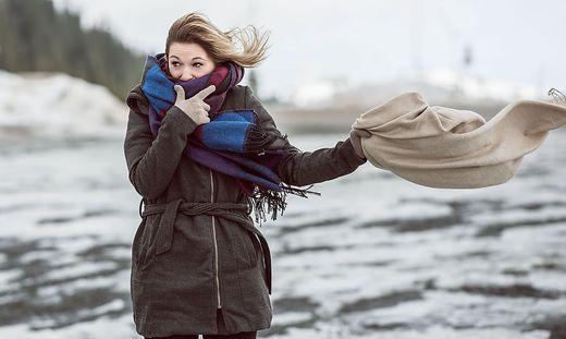 Windspitzen über 100 km/h werden auf den Bergen prognostiziert
