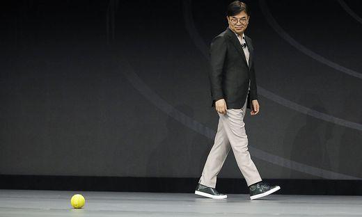 """Samsungs Roboterball """"Ballie"""" im Einsatz"""