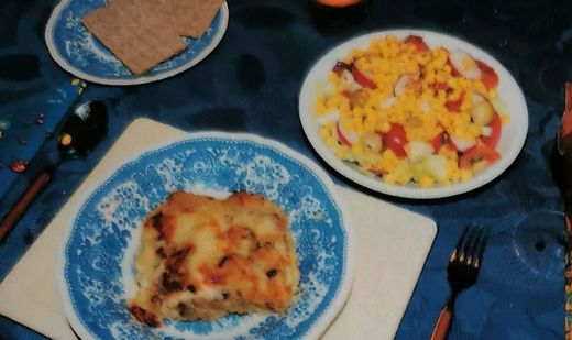 Kartoffel-Zwiebel-Anchovis-Auflauf aus Schweden