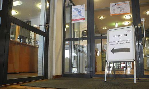 Im Kolpinghaus Klagenfurt finden die Gespräche statt