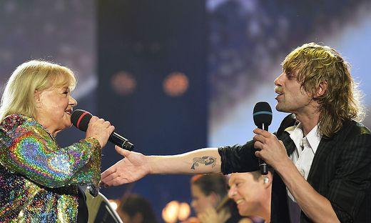 """Marianne Mendt und Voodoo Jürgens: Die """"Mutter"""" des Austro-Pop trifft das """"Enkelkind"""""""