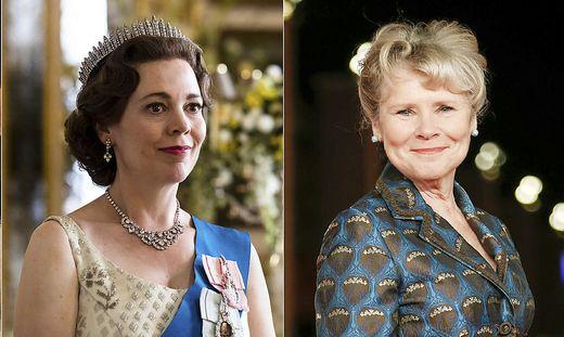 Auf Olivia Colman (links) folgt nun Imelda Staunton als Queen