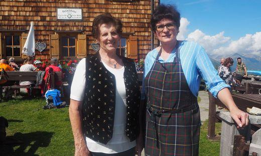 Marianne und Neli Gussnig waren ein eingespieltes Team: Heuer war ihr letztes Jahr auf der Polinikhütte, deren Blütenpracht immer wieder bei der Blumenolympiade punkten konnte