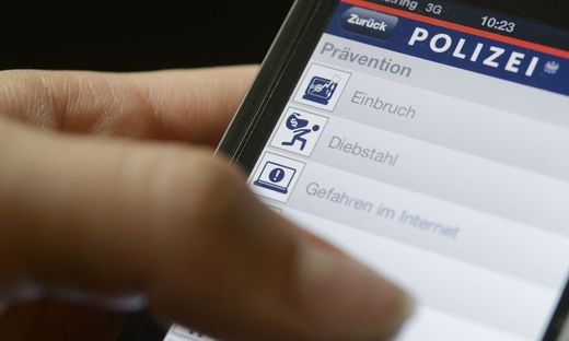 THEMENBILD: SICHERHEITS-APP DER POLIZEI F�R SMARTPHONES