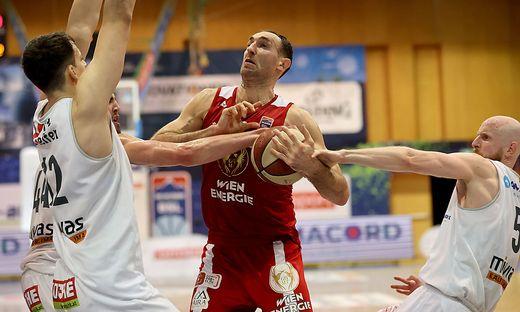 Vladimir Golubovic erzielte gegen Kapfenberg 31 Punkte