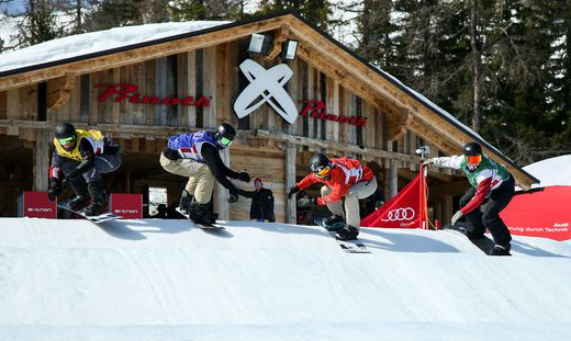 SNOWBOARDING - FIS SX and SBX Junior WC