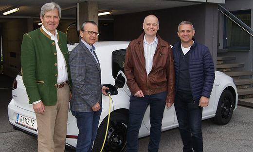 Der elektrisch angetriebene VW Golf