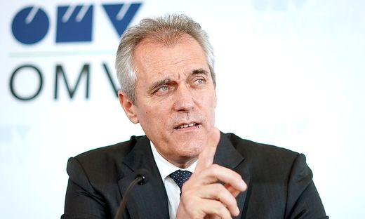 OMV-Chef Rainer Seele