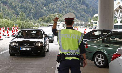 Intensivere Grenzkontrollen sind laut Polizei vorerst nicht geplant