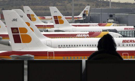 In Spanien könnten bald viele Flugzeuge am Boden bleiben