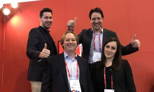 Das Team von eyeson am Mobile World Congress