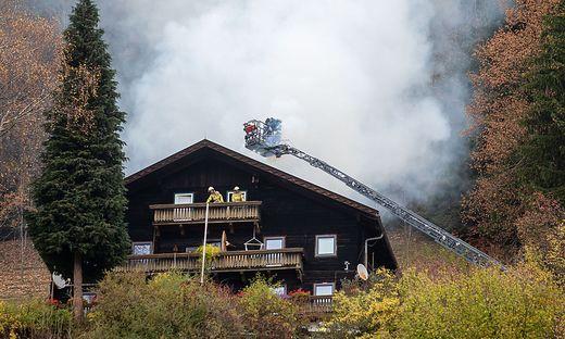 Auf einem Bauernhof in Göriach ist ein Feuer ausgebrochen