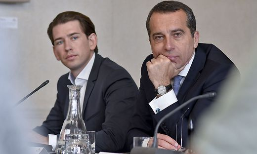 EU-HAUPTAUSSCHUSS DES NATIONALRATES: KERN / KURZ