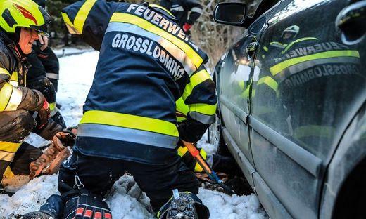 Feuerwehreinsatz am Gaberl