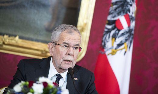 Bundespräsident Van der Bellen: Ermahnung an die Regierung