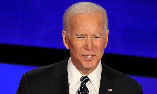"""Joe Biden, Ex-Vizepräsident, nunmehr demokratischer Präsidentschaftskandidat: """"Trump hat gelogen."""""""
