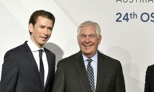 OSZE-Ministerrat in Wien: Schlagabtausch zwischen Russland und der USA