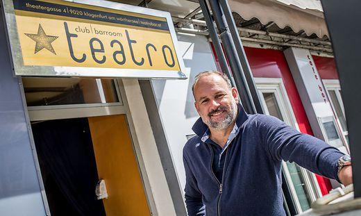 Gert Höferer, Betreiber des Club Baroom Teatro in der Klagenfurter Innenstadt,  kritisiert die Vorgehensweise der Behörde