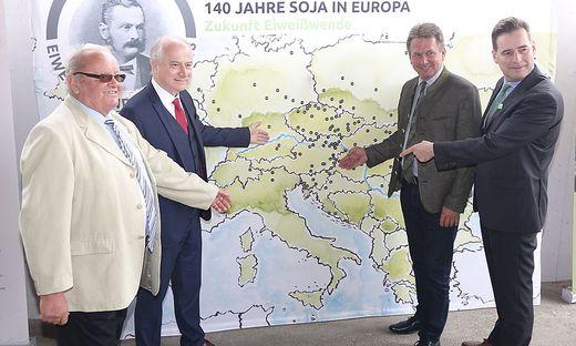 140 Jahre Soja in Oesterreich
