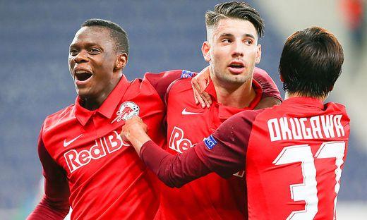 Salzburg spielt gegen Maccabi Tel Aviv um den Einzug in die Champions League