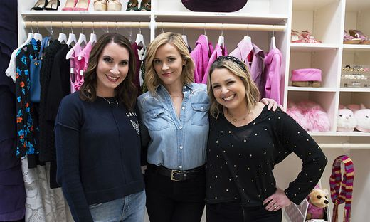 Clea Shearer, Reese Witherspoon und Joanna Teplin