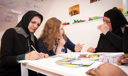 Für Deutschkurse werden freiwillige Helfer gesucht